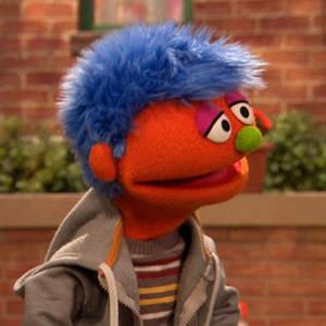 Alex, the Sesame Street character with a parent in prison