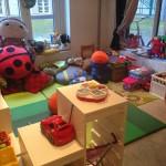 Bufff children's play area